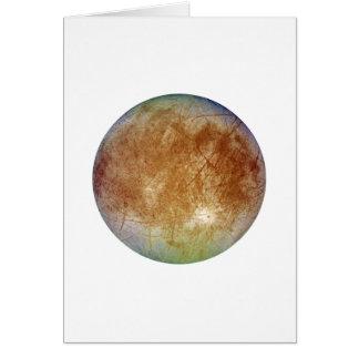 惑星のジュピターの月のユーロパ(太陽系)の~ カード