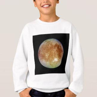 惑星のジュピターの月のユーロパ(太陽系)の~ スウェットシャツ