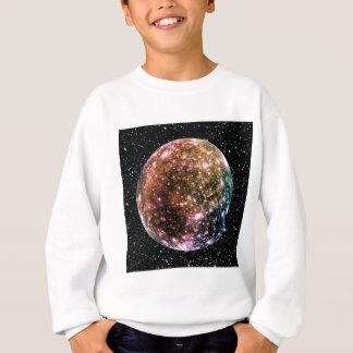 惑星のジュピターの月- CALLISTOの星の背景2 スウェットシャツ