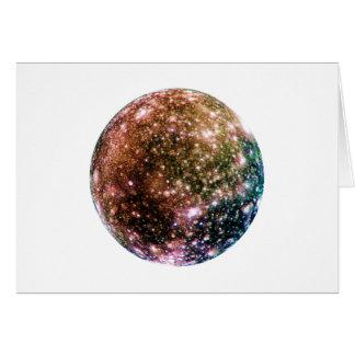 惑星のジュピターの月- CALLISTO (太陽系)の~~ カード