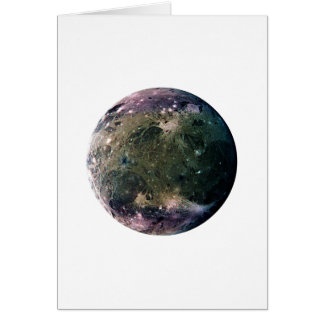惑星のジュピターの月GANYMEDE (太陽系)の~~ カード