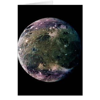 惑星のジュピターの月GANYMEDE (太陽系)の~ カード
