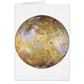 惑星のジュピターの月IO (太陽系)の~ カード