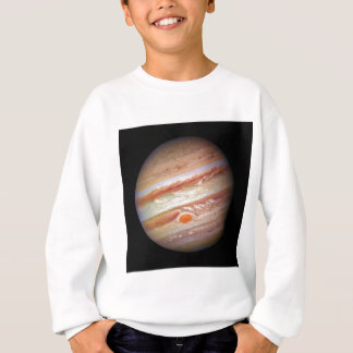 惑星のジュピターの`の(太陽系の) ~の赤い点の頭部 スウェットシャツ