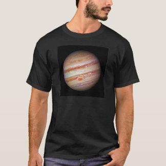惑星のジュピターの`の(太陽系の) ~の赤い点の頭部 Tシャツ