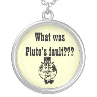 惑星のプルートのネックレス ネックレス