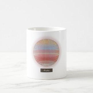 惑星のプルートのマグ コーヒーマグカップ