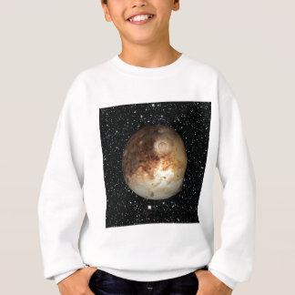 惑星のプルートの星の背景(太陽系)の~ スウェットシャツ