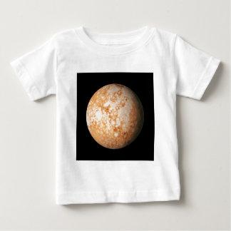 惑星のプルートの自然な(太陽系) ~~ ベビーTシャツ
