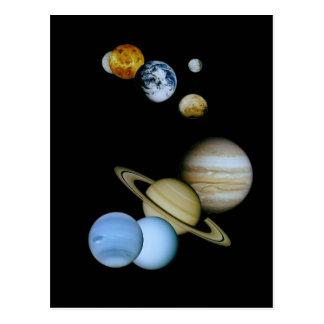 惑星のモンタージュ ポストカード