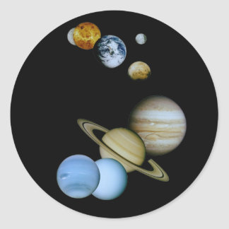 惑星のモンタージュ ラウンドシール