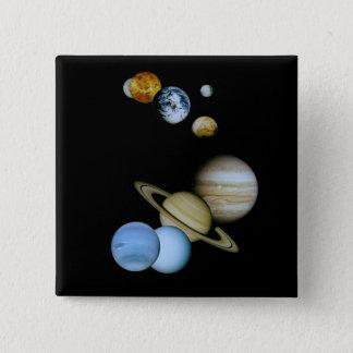 惑星のモンタージュ 5.1CM 正方形バッジ