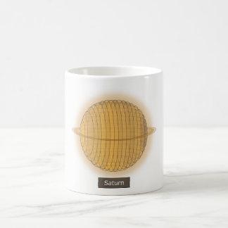 惑星の土星のマグ コーヒーマグカップ