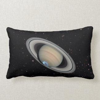 惑星の土星の星明かりの空のLumbarの装飾用クッション ランバークッション