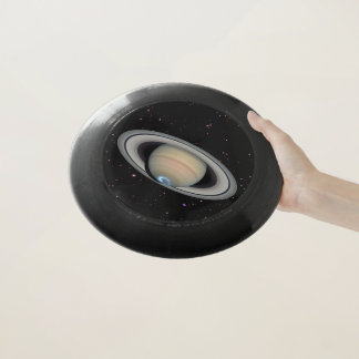 惑星の土星の星明かりの空 Wham-Oフリスビー