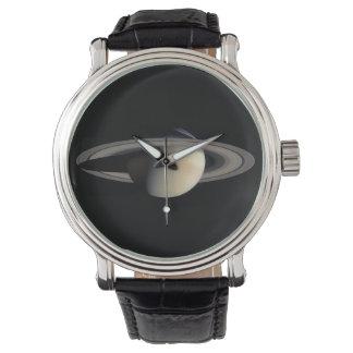 惑星の土星科学の天文学 腕時計