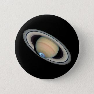惑星の土星(太陽系)の~ 5.7CM 丸型バッジ
