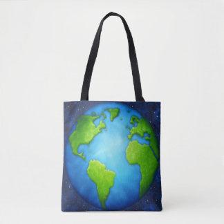 惑星の地球のトートバック トートバッグ