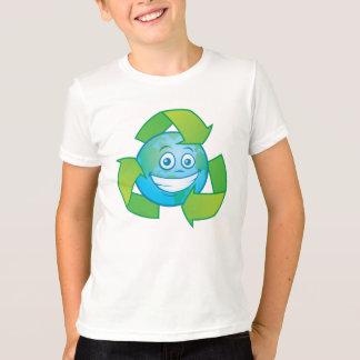 惑星の地球のリサイクルのマンガのキャラクタ Tシャツ