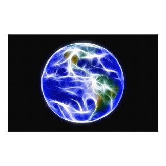 惑星の地球の世界の地球 便箋