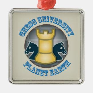 惑星の地球の紋章のチェス大学 メタルオーナメント