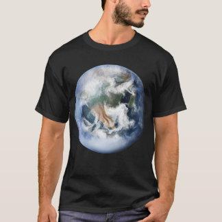 惑星の地球のTシャツ Tシャツ
