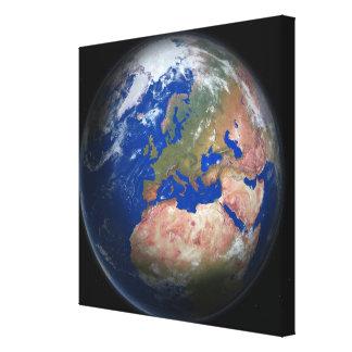 惑星の地球2 キャンバスプリント