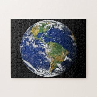 惑星の地球 ジグソーパズル