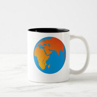 惑星の地球 ツートーンマグカップ