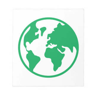 惑星の地球 ノートパッド
