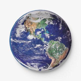 惑星の地球 ペーパープレート