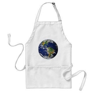 惑星の地球(太陽系)の~ スタンダードエプロン
