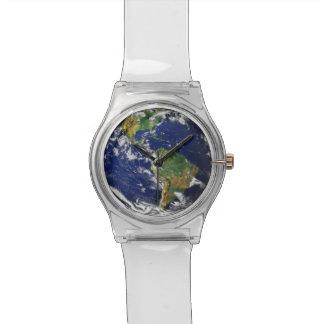 惑星の地球 腕時計