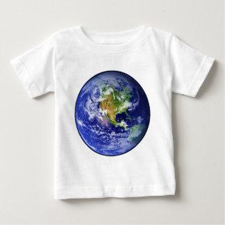 惑星の地球v.3 (太陽系)の~ ベビーTシャツ