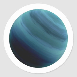 惑星の天王星(太陽系)の~~ ラウンドシール