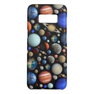 惑星の宇宙のテーマパターンの山 Case-Mate SAMSUNG GALAXY S8ケース