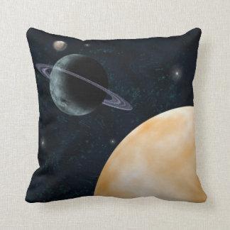 惑星の宇宙の枕 クッション