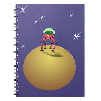 惑星の宇宙服のAlenの頭脳 ノートブック