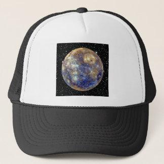 惑星の水星v.2の星の背景(太陽系) キャップ