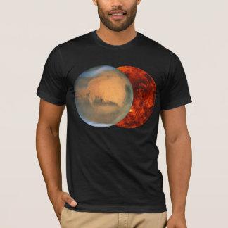 惑星の火星及び金星 Tシャツ