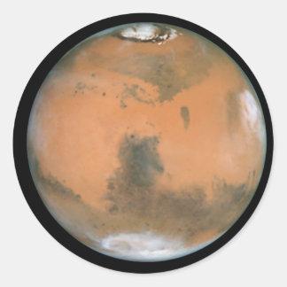 惑星の火星 ラウンドシール