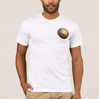 惑星の火星- 3D効果 Tシャツ