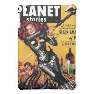 惑星の物語-火星のiPadの場合の黒いアマゾン iPad Miniケース