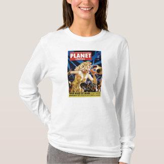 惑星の物語-火星のTシャツのWarmaid Tシャツ