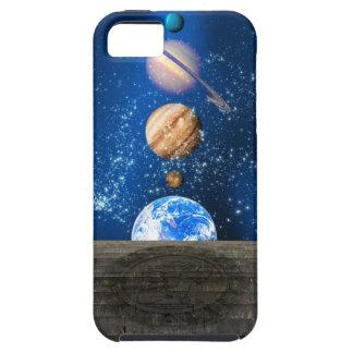 惑星の直線、コンピュータアートワーク iPhone SE/5/5s ケース