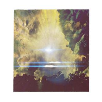 惑星の美しい雲 ノートパッド