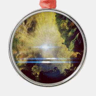 惑星の美しい雲 メタルオーナメント