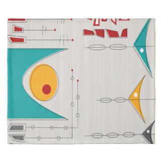 惑星の羽毛布団カバーの一直線に並ぶこと 掛け布団カバー