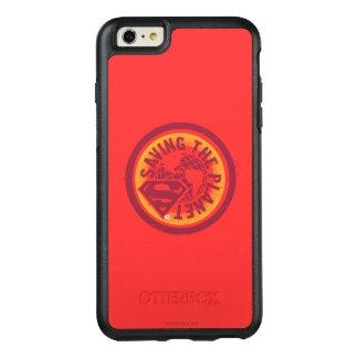 惑星の赤の円を救うこと オッターボックスiPhone 6/6S PLUSケース