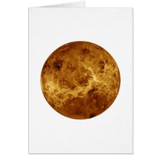 惑星の金星のレーダーの眺め(太陽系)の~~~ カード